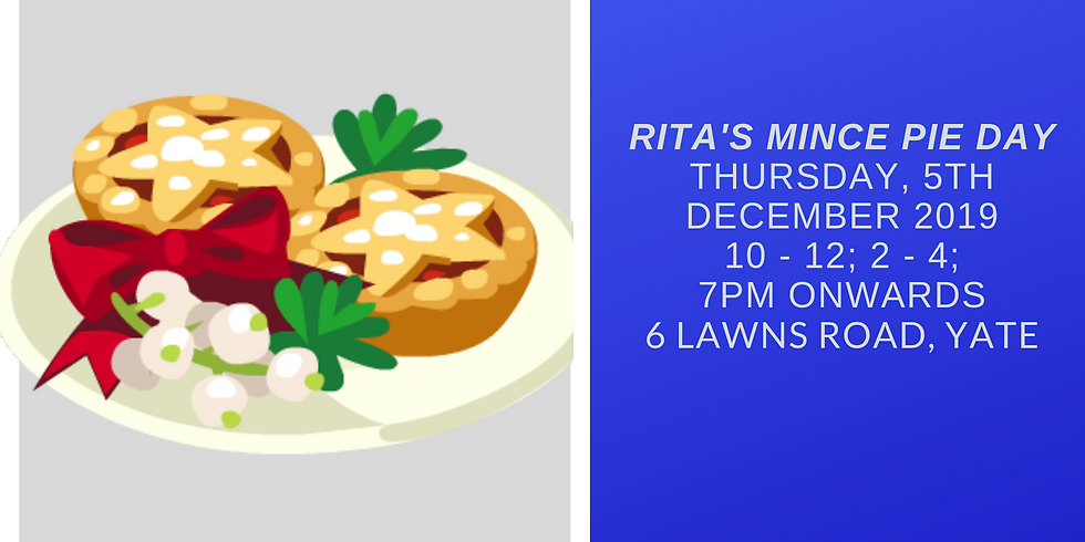 Rita's Mince Pie Day