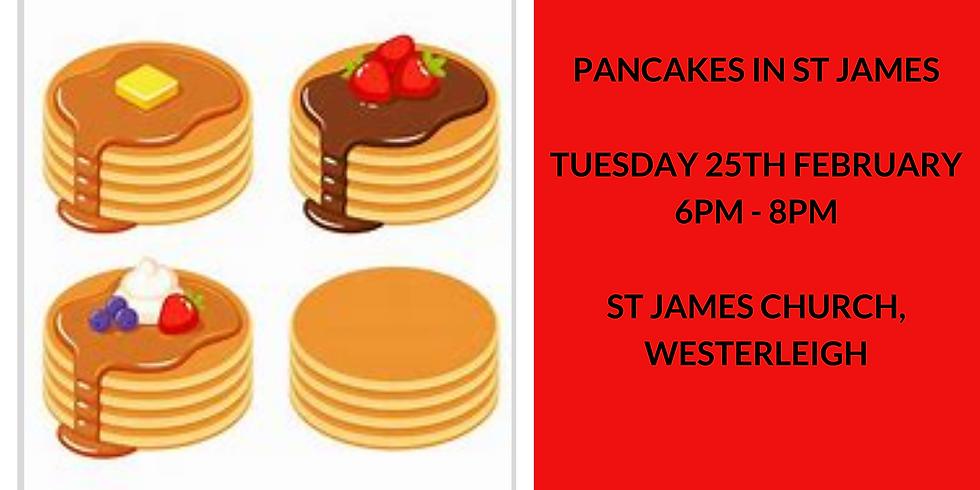 Pancakes at St James
