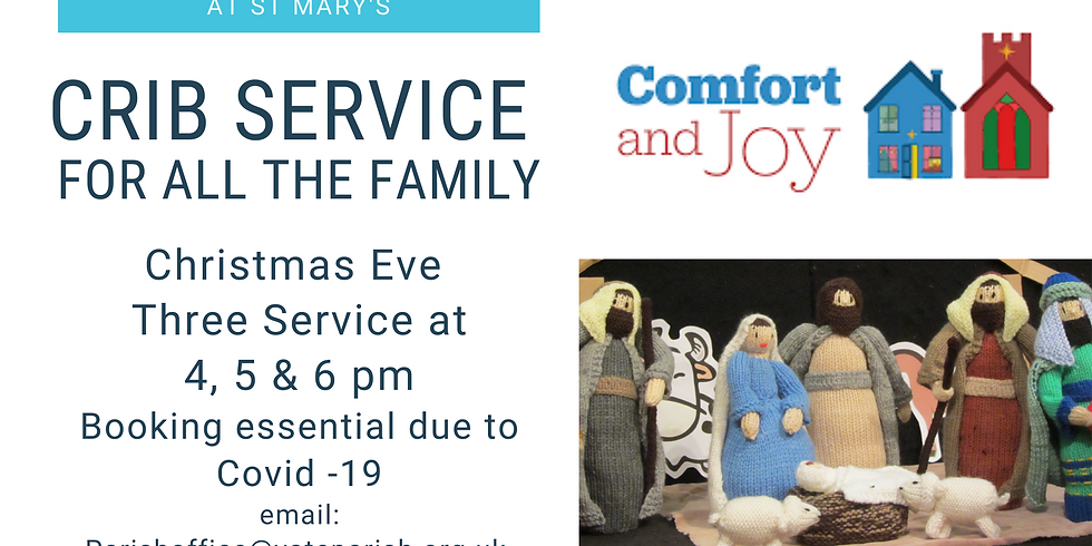 Crib Service for all the family 5 pm