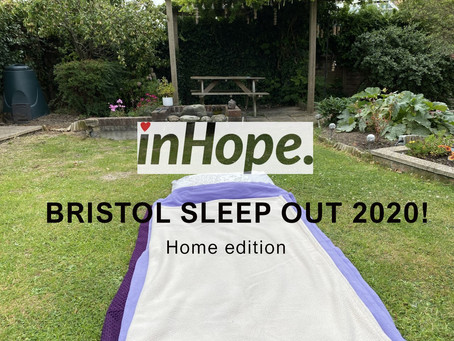 In Hope Bristol Sleep Out by Youth Group