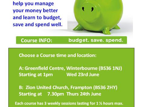 CAP Money Course running in June