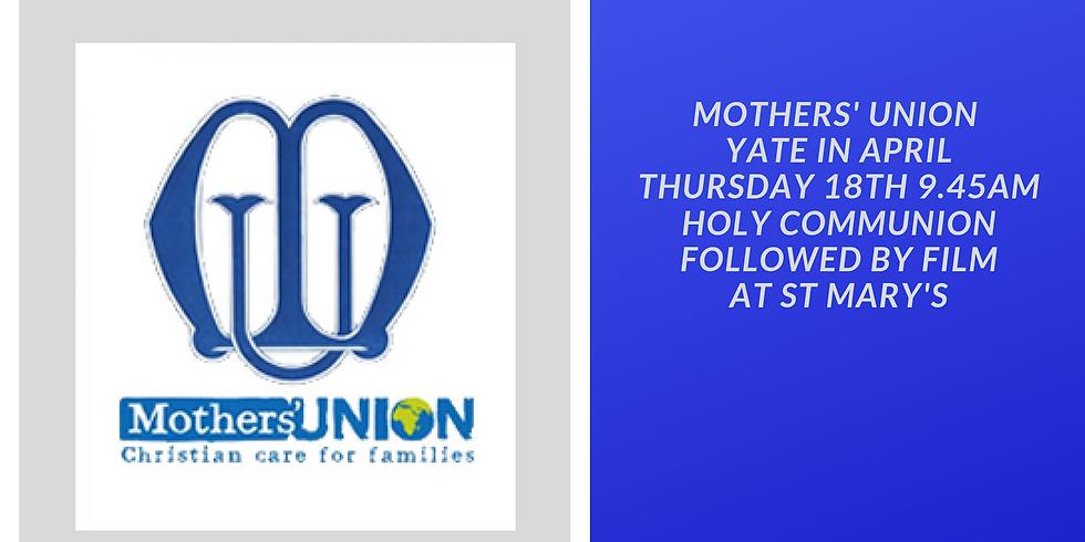 Mothers' Union Yate