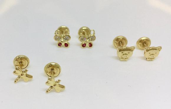 Topos en oro