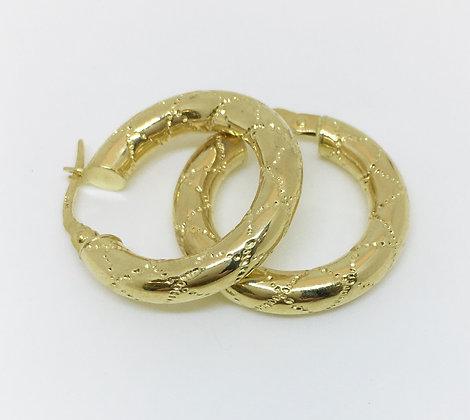 Candongas en oro