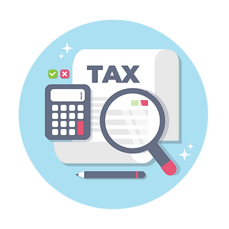 —Pngtree—calculate tax concept in flat_5