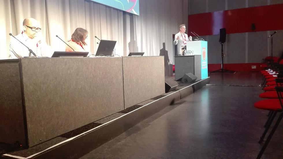 Ramzi at the podium ESC.jpg