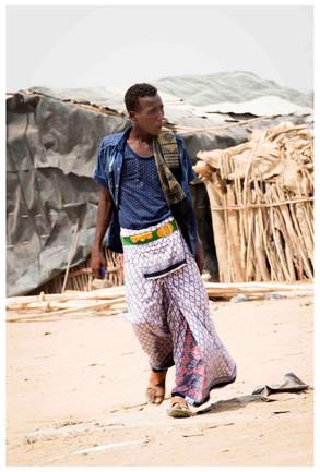 Kmen Afar – místní pánská móda
