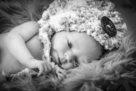 Portrét miminka, newborn