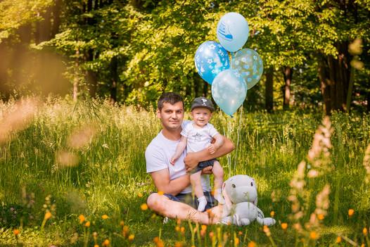 Rodinné focení v přírodě v rámci Moravskoslezského kraje