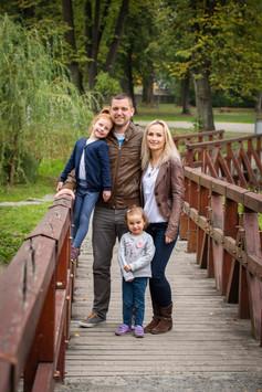 Portrét v rámci rodinného focení