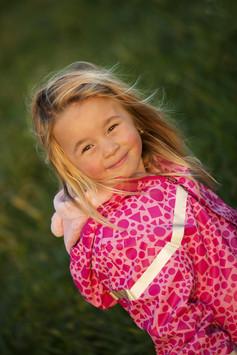 Portrét v rámci focení dětí
