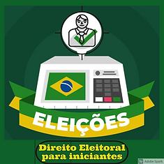 Folder Direito Eleitoral para iniciantes