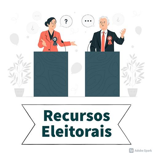 Teoria Geral dos Recursos Eleitorais e Recursos em espécie - matando tudo sobre