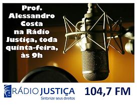 Direito Eletoral com o Professor Alessandro Costa na Rádio Justiça FM