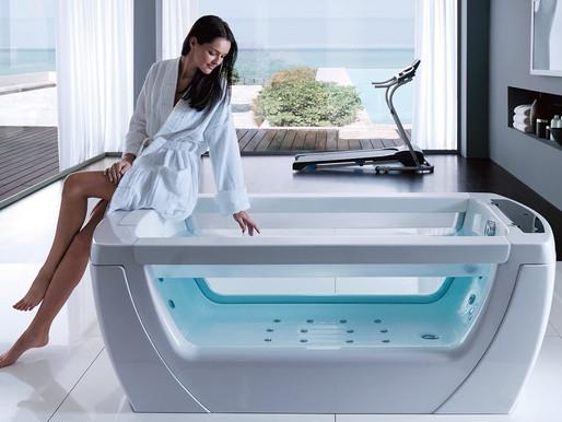 Як обрати ванну з гідромасажем?