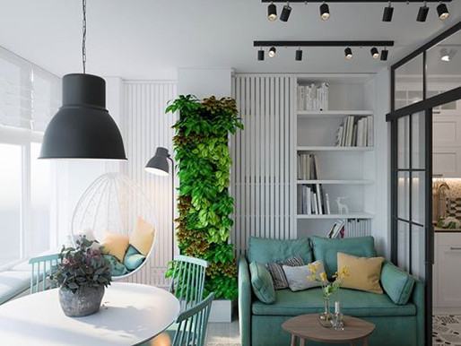 Дизайн квартири в сучасному стилі.