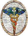 mosaic caduces white back 2x3in.jpg
