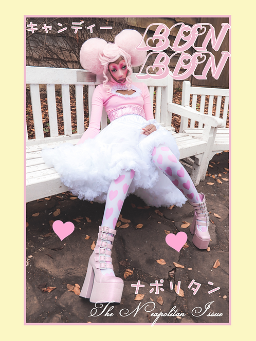 BonBon Issue Four // The Neapolitan Issue (with stickers♡)