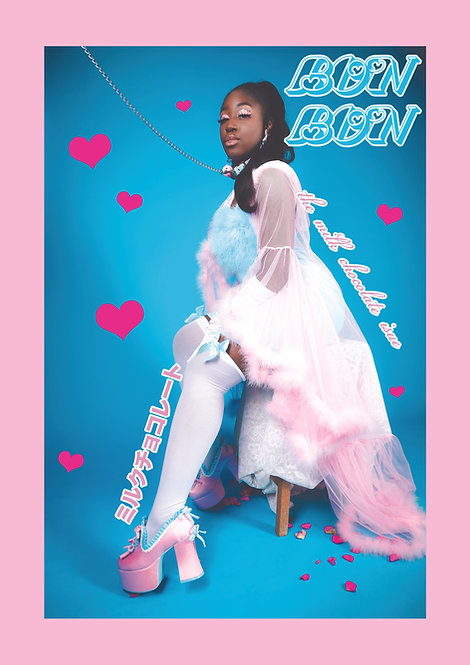 BonBon Issue 2 //Jezebel Poster