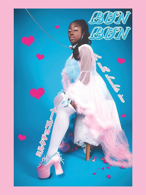 BonBon Issue 2 //Jezebel Poster