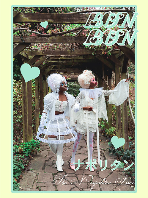BonBon Issue 4 // Over There Poster