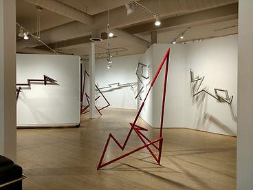 Robert Mangold Sculpture at Michael Warren Contemporary