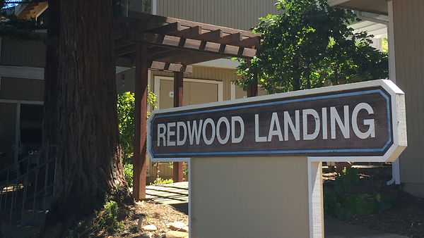 redwood landing property sign