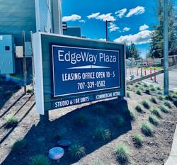 edgeway plaza sign