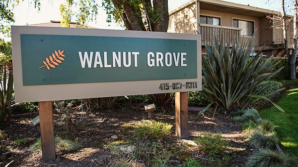 walnut grove property sign