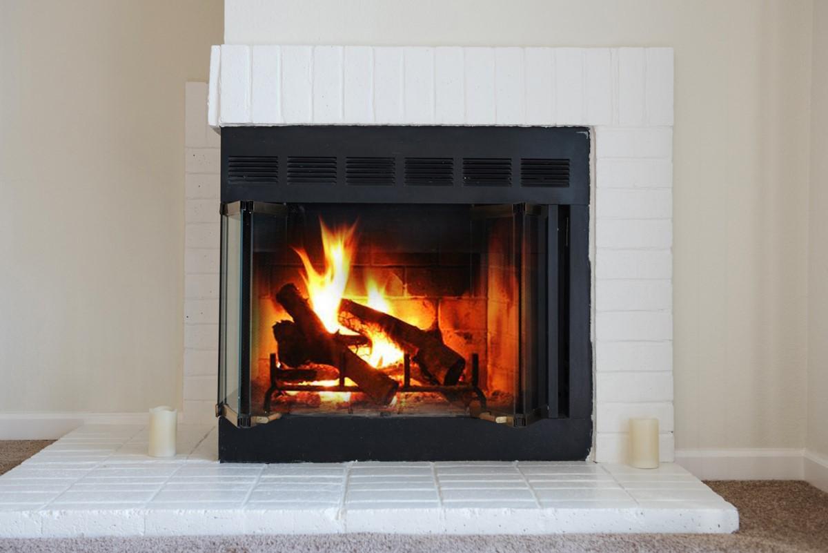 Vintage Pointe Fireplace