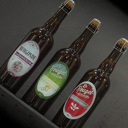 Bières Rouget de Lisle 75 cL