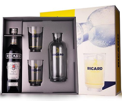 Coffret Ricard Lehanneur 1 pichet + 2 verres