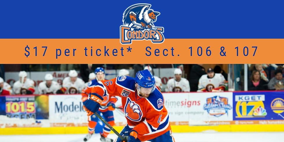 Condors Hockey non-profit night feature MARE