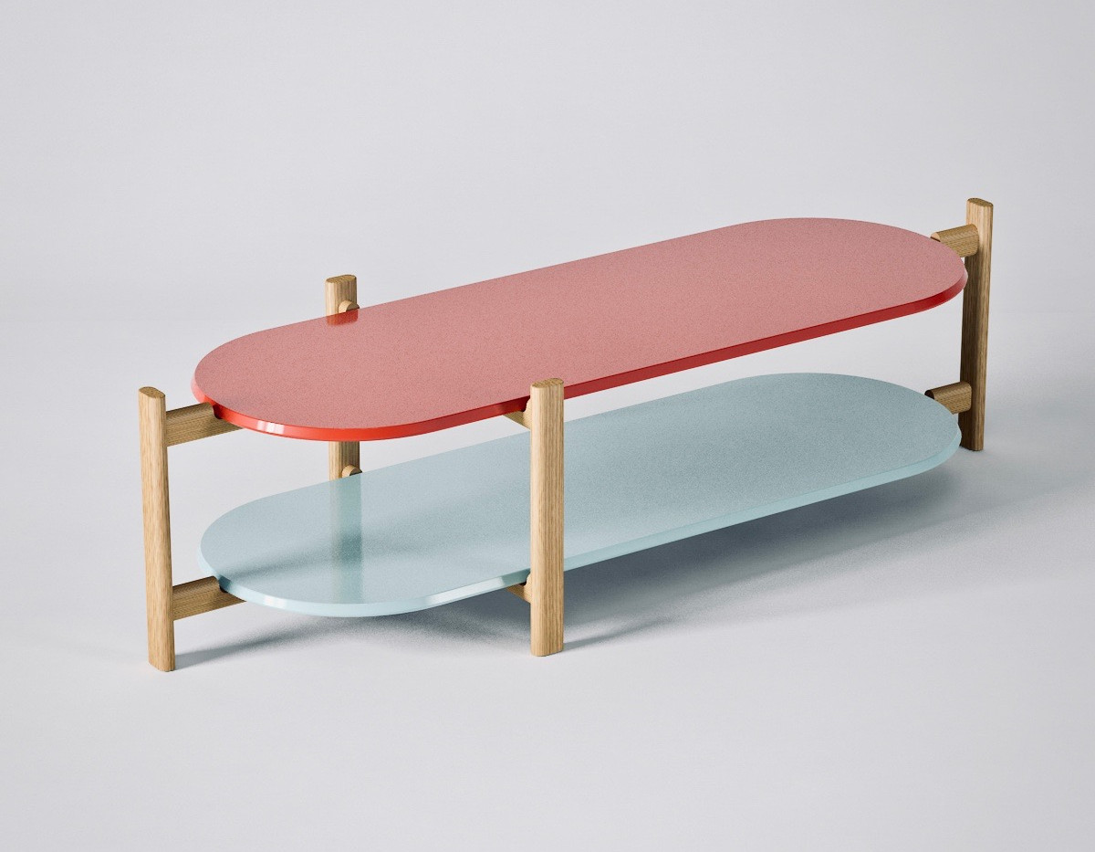 2 Palet Table