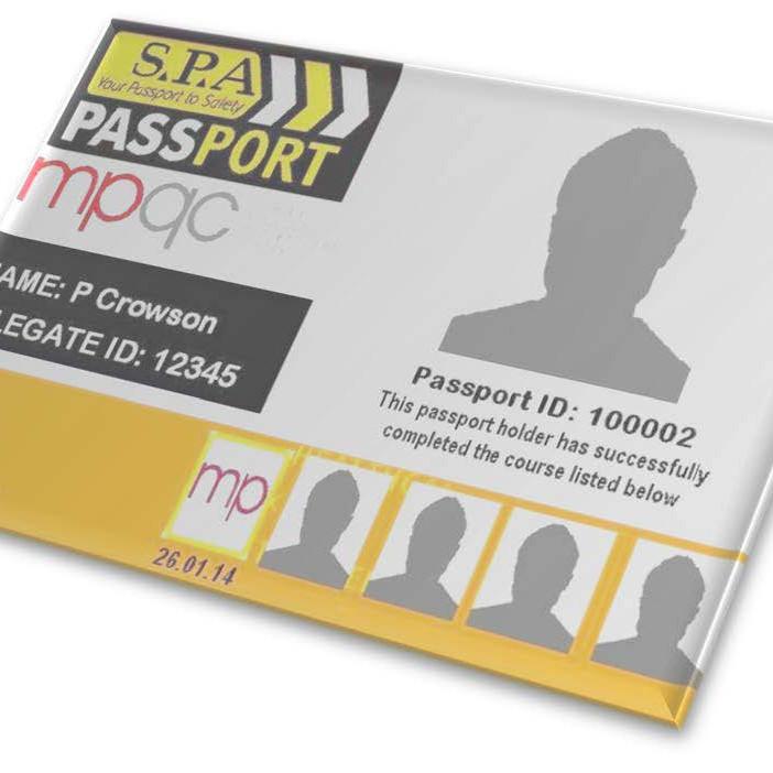 MPQC / SPA Minerals (Quarry) Passport - 2 Day