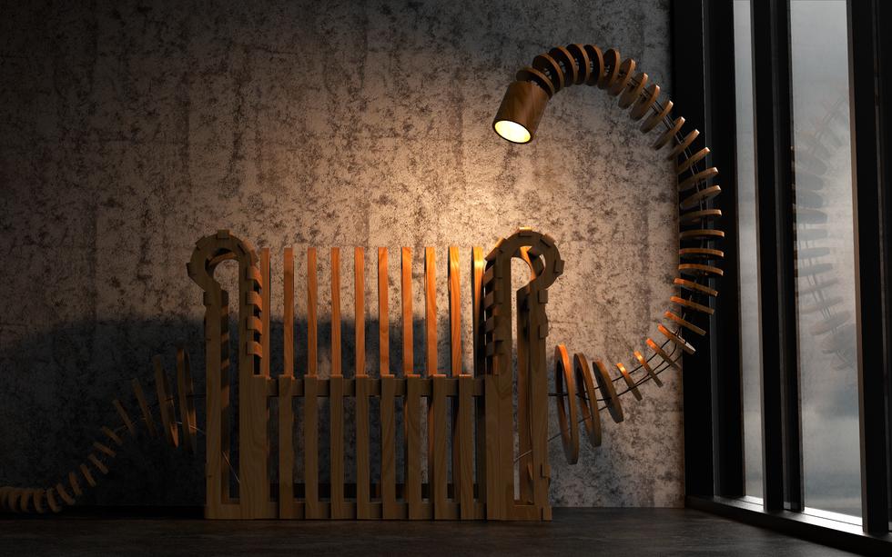 Cadeira Boitatá