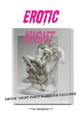 Erotic Night, ENSBA, avec Chedly Atallah