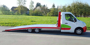 Kläsi Tiefrahmen Autotransporter Alu Chassis