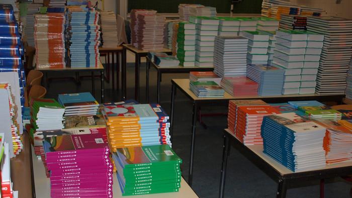 Bücherrückgabe College und Lycée