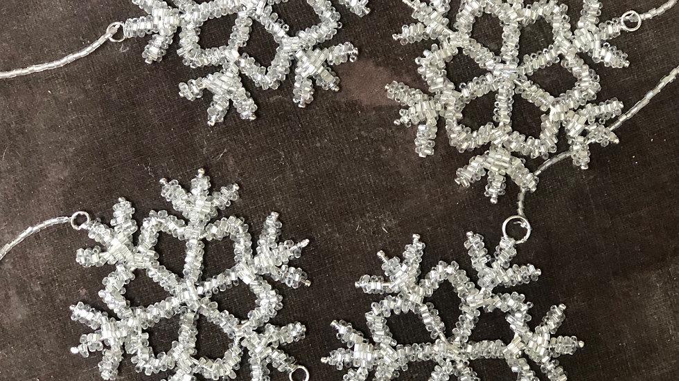 Large Snowflake Hanging Garland