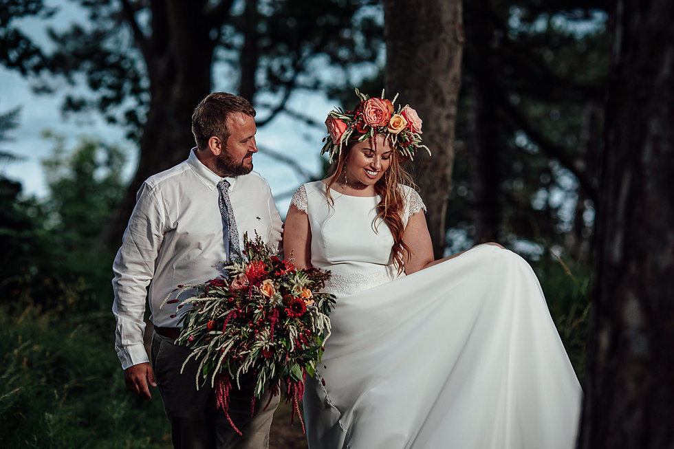 The Snowdonia Celebrant North Wales - woodland weddings and elopements