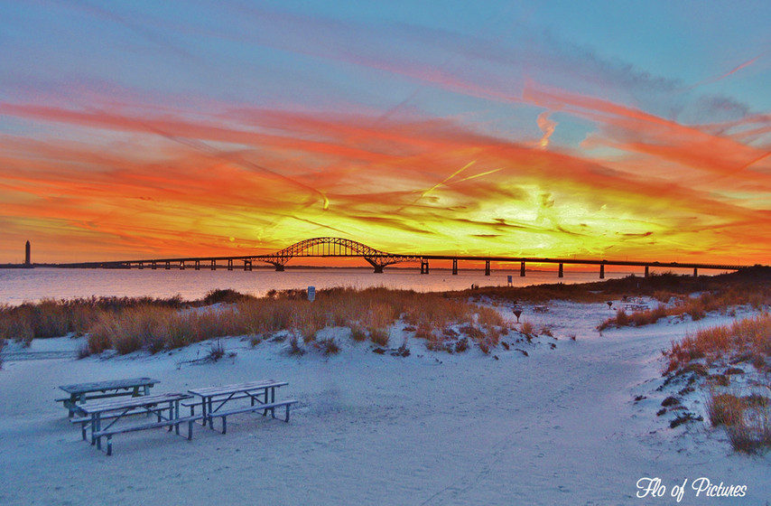 Sunset Afterglow at Captree