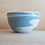 Thumbnail: Petit saladier en porcelaine, coloris bleu