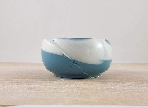 Bol zen en porcelaine, bleu