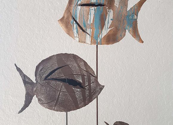 Sculpture, Les poissons