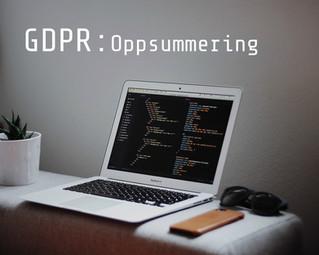 GDPR - En liten oppsummering