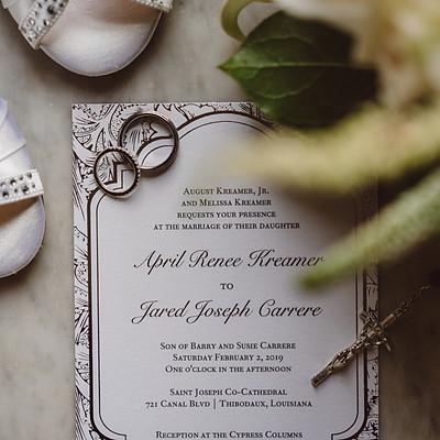 Jared & April's Wedding
