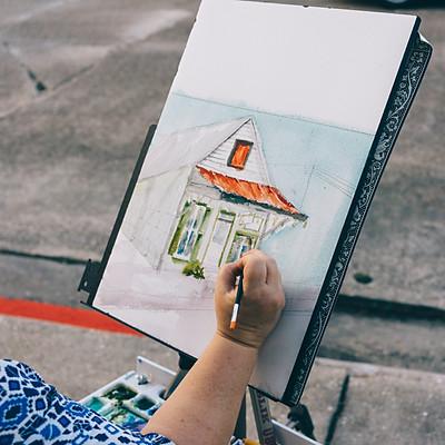 Downtown Arts Walk in Thibodaux