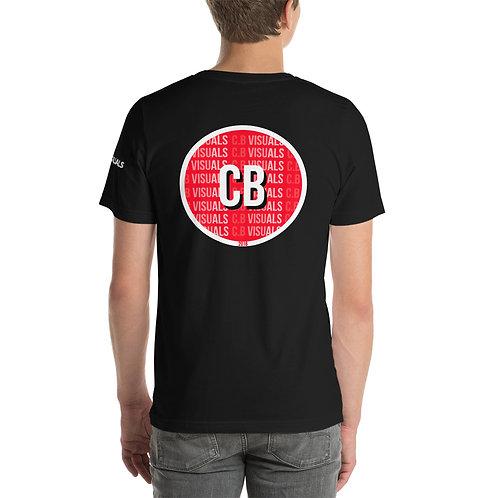 Official C.B Visuals T Shirt Rear Design