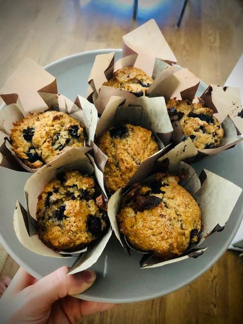 Mama's Blueberry Muffins